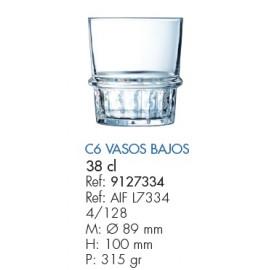 VASO NEW YORK BAJO 38 CL.