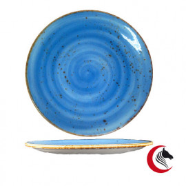 PLATO LLANO NAOS 28 CM. BLUE REF: 1001502