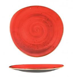 PLATO IRREGULAR RED 26,5 REF: 1001903