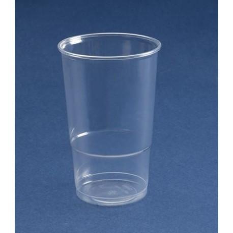 Vaso plastico 220 c c pp transparente bolsa 100 u - Vidrio plastico transparente precio ...