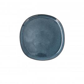 PLATO LLANO GRES IKONIC - BIDASOA 20,2X19,7X1,3CM BLUE