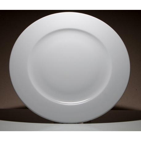Plato delta llano porcelana for Platos porcelana