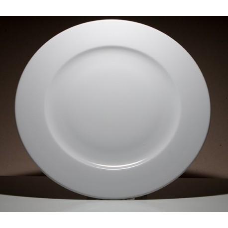 Plato delta llano porcelana for Platos cuadrados de porcelana