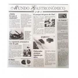PAPEL PARAFINADO PERIODICO 29 X 30 CM. PAQ. 500 U.